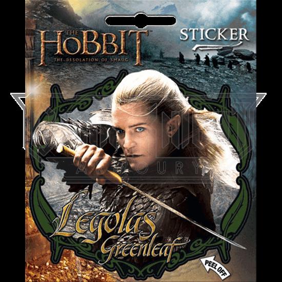 Legolas Greenleaf the Hobbit Series Sticker