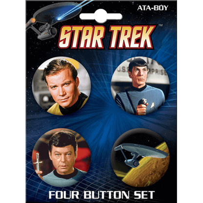 Star Trek Classic Icons Button Set