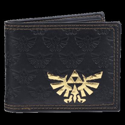 Embossed Legend of Zelda Bi-Fold Wallet