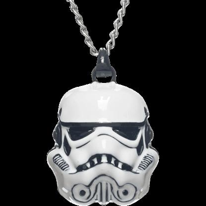 Stormtrooper Helmet Necklace