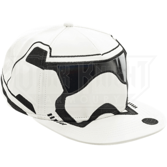 99f16022dab89 Star Wars Stormtrooper Snapback Hat - BM-0231 from Leather Armor ...