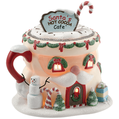 Santa's Hot Cocoa Cafe - North Pole Series by Department 56