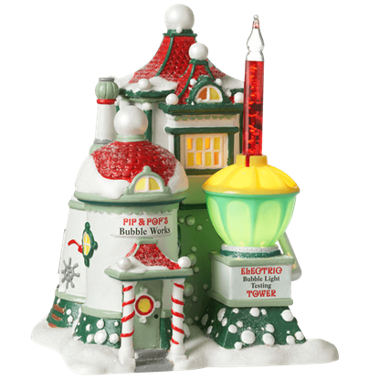 Pip and Pop's Bubble Works - North Pole Series by Department 56