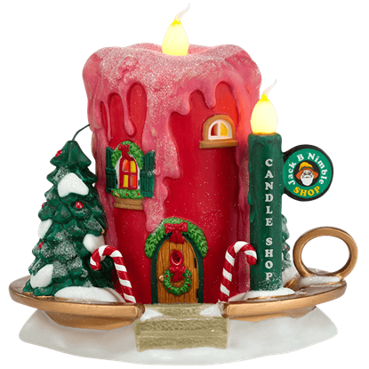 Jack B Nimble Candle Shop - North Pole Series by Department 56