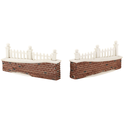 Picket Lane Walls - Village Walls, Fences, and Streets by Department 56