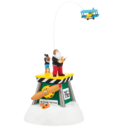 Animated Flight Test - North Pole Series by Department 56