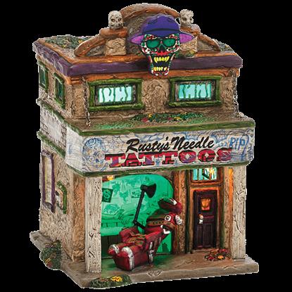 Rusty's Needle - Halloween Village by Department 56