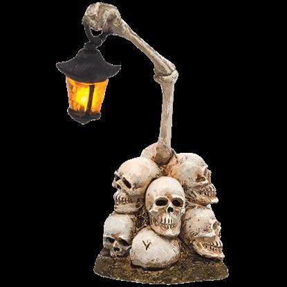 Boneyard Lantern - Halloween Village Accessories by Department 56