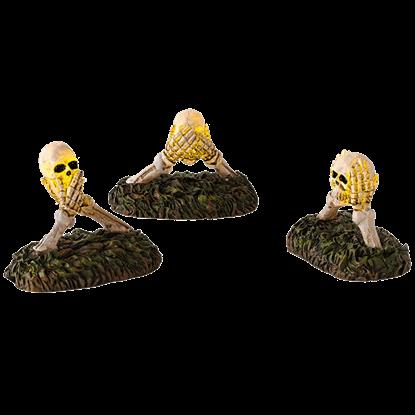 Boneyard Do No Evil Lights - Halloween Village Accessories by Department 56