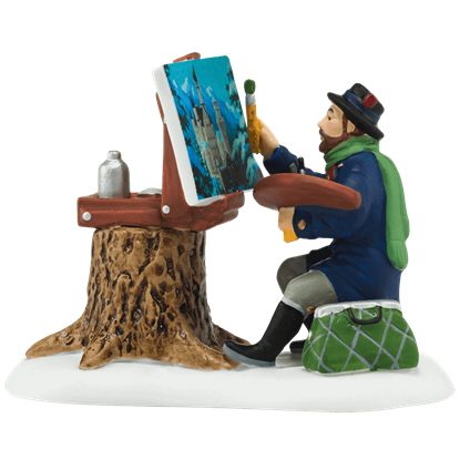 Plein Air Painter - Alpine Village by Department 56