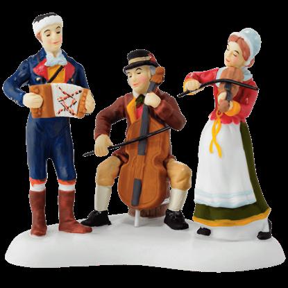 Christmas Market Musicians - Alpine Village by Department 56