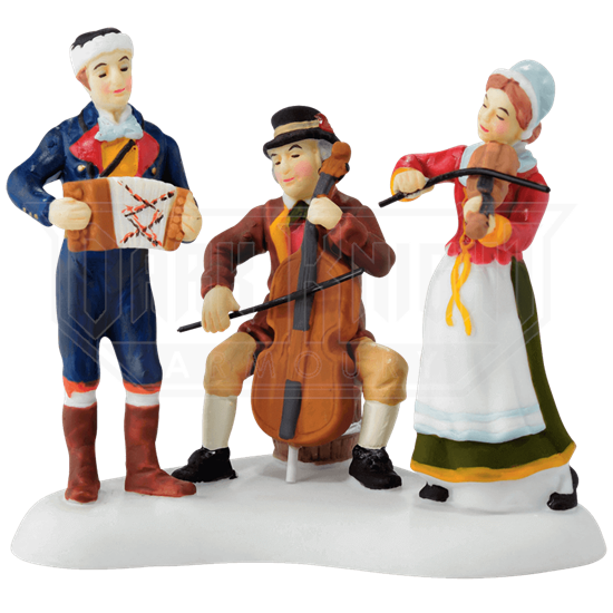Christmas Market Musicians - Alpine Village by Department 56