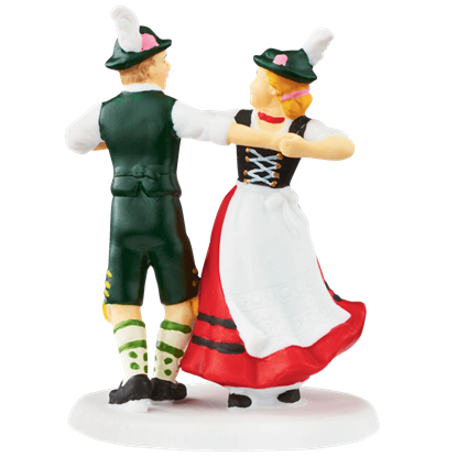 Christmas Market Dance - Alpine Village by Department 56