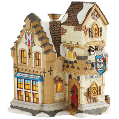 The Sword and Shield - Dickens Village by Department 56