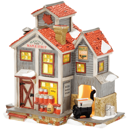 Masons Maple Syrup - New England Village by Department 56