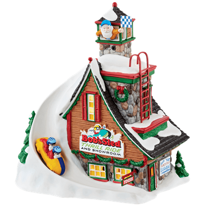 Bob's Sled Thrill Ride - North Pole Series by Department 56