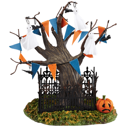 Halloween Town Tree - Halloween Village by Department 56
