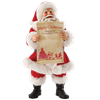 Gonna Find Out - Santa Christmas Figurine by Possible Dreams