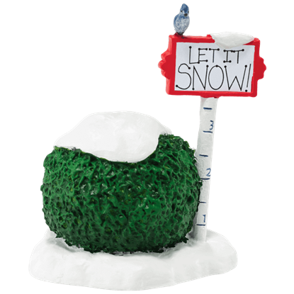 Let It Snow - Accessory Buildings and Figurines by Department 56