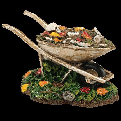 Boneyard Wheelbarrow - Halloween Village Accessories by Department 56