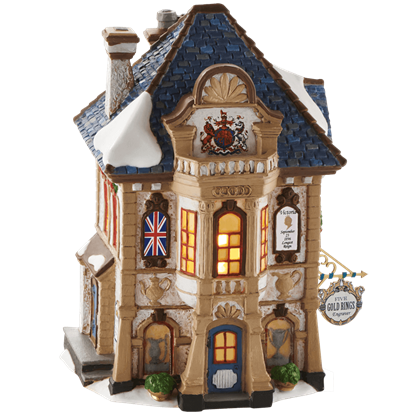 Five Gold Rings Engraver - Dickens Village by Department 56