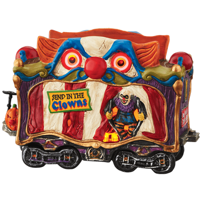 Creepy Clown Car - Halloween Village by Department 56