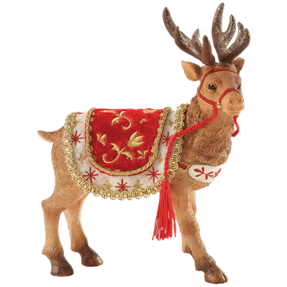 Santa's Reindeer - Christmas Figurine by Possible Dreams