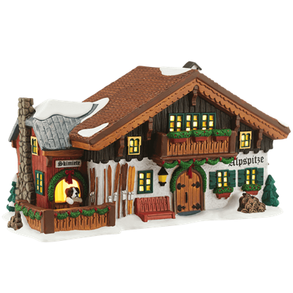 Alpine Ski Lodge - Alpine Village by Department 56