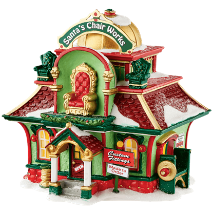 Santas Chair Works - North Pole Series by Department 56