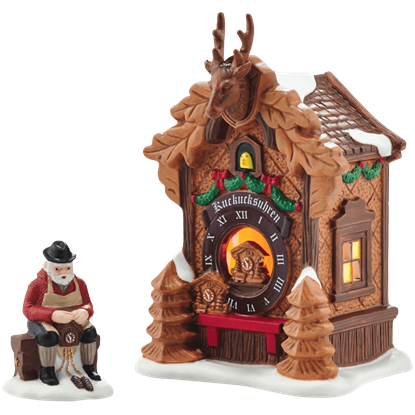 Black Forest Christmas Market - Alpine Village by Department 56