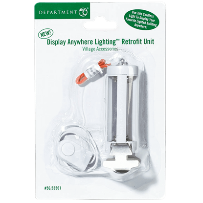 Display Anywhere Retrofit Unit - Replacement Bulbs and Power Cords by Department 56