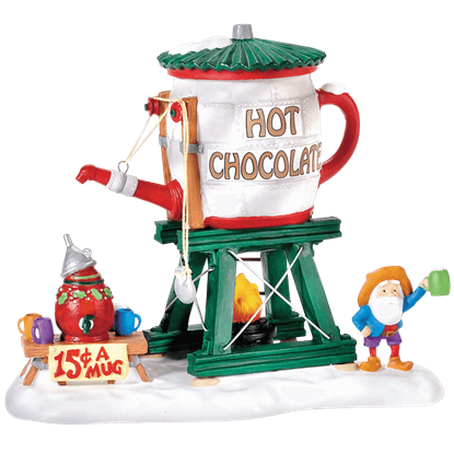 Hot Chocolate Tower - North Pole Series by Department 56
