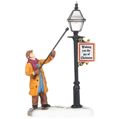 New England Lamplighter - New England Village by Department 56