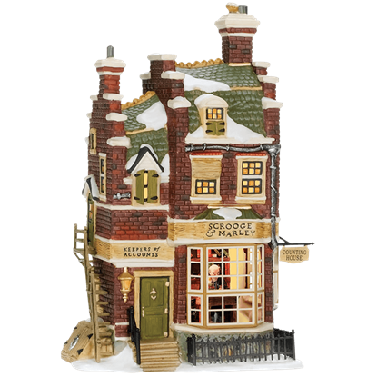 Scrooge and Marley's Counting House - Dickens A Christmas Carol by Department 56