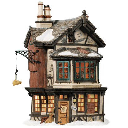 Ebenezer Scrooges' House - Dickens A Christmas Carol by Department 56