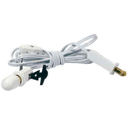 Single Power Cord with Light Bulb - Replacement Bulbs and Power Cords by Department 56