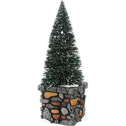 Limestone Topiaries - Village Landscapes and Trees by Department 56