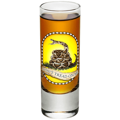 Dont Tread on Me Shooter Glass