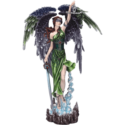 Lady Justice Goddess Statue