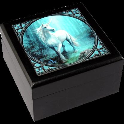 Forest Unicorn Tile Box