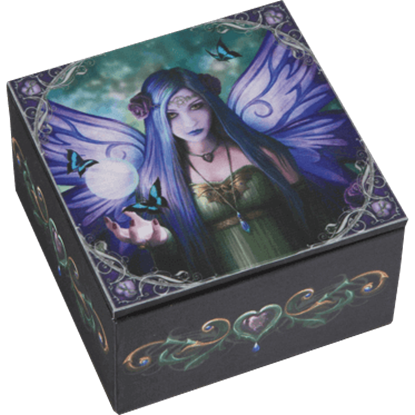 Anne Stokes Mystic Aura Fairy Box
