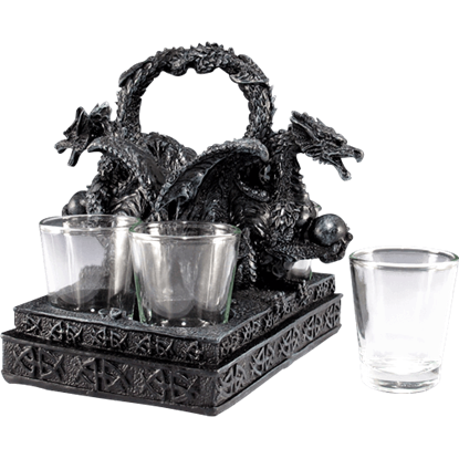 Dragon Base Shot Glass Set