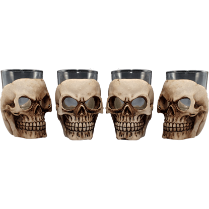 12 Piece Skull Shot Glass Set