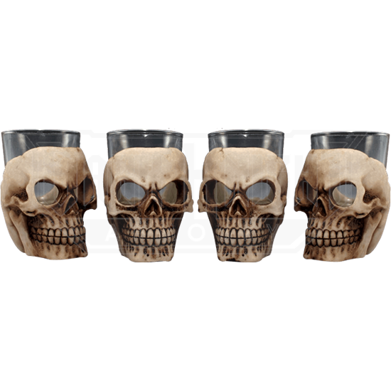 12 Piece Skull Shot Glass Set