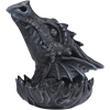 Stone Gray Dragon Head Incense Burner