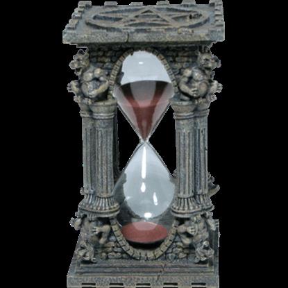 Gargoyle Pentagram Hourglass