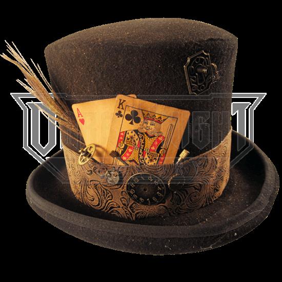 356ea269f Mens Gambling Steampunk Top Hat