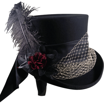 Mad Hatter Felt Top Hat