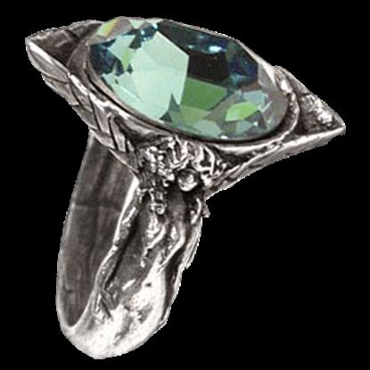 Absinthe Fairy Spirit Crystal Ring