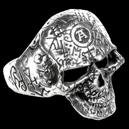 Omega Skull Ring